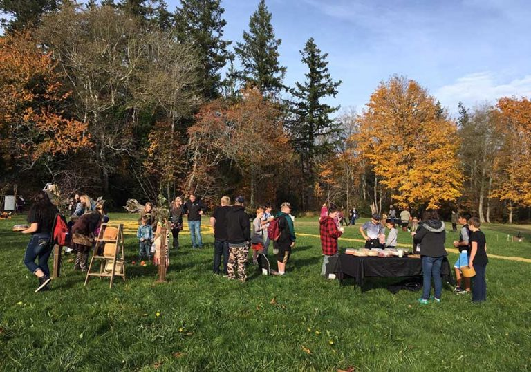 Halloween Harvest Festival Photo - Copyright ©2019 Worthington Park / Quilcene Historical Museum. All Rights Reserved.