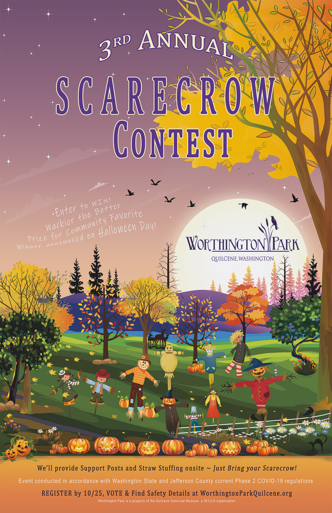 2020 Scarecrow Contest poster