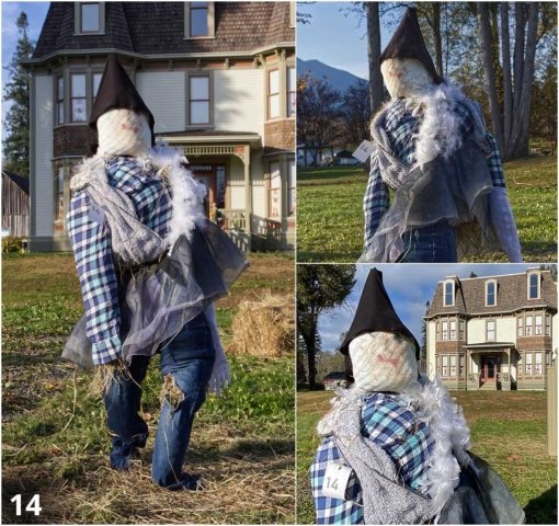 Scarecrow Contest Entry. Photography by Jeff Childs. Copyright ©2020 Worthington Park. All Rights Reserved.