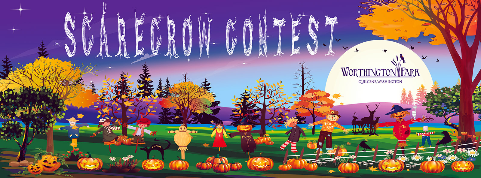 4th Annual Scarecrow Contest Web Banner
